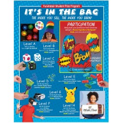 It's In The Bag Prize Flyer (Blue)