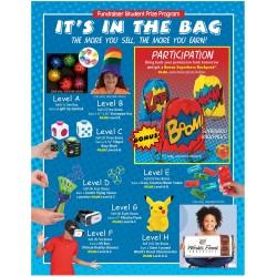 It's In The Bag Prizes (Blue) Prize Program Poster, 20 x 30