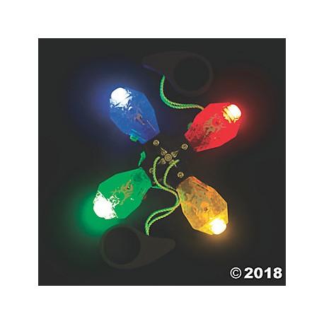 Light Up String Pull Spinning Wheel