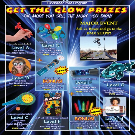 Get the Glow Prizes w/ a Custom Event Level