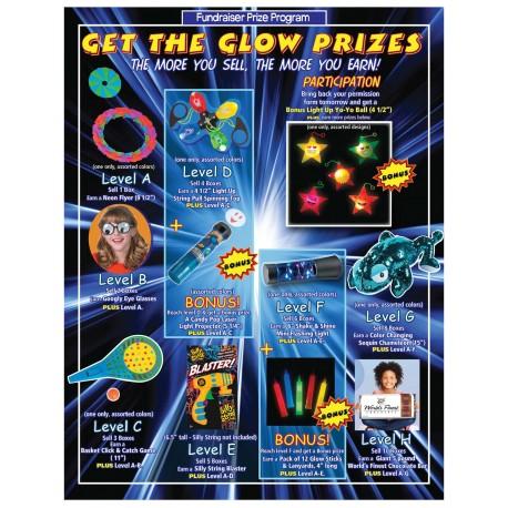 JD Get the Glow Prizes w/ Participation Level JD
