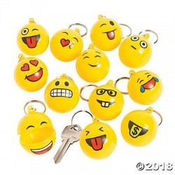 Level A1-Bonus Emoji Keychain Collectible