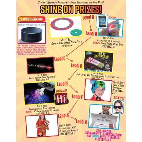 Shine On Prizes Prize Flyer 2019-2020