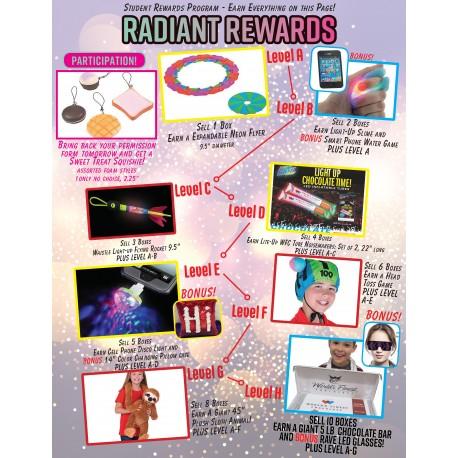 Radiant Rewards Prize Flyer 2019-2020