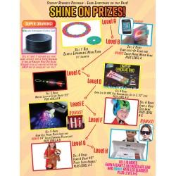 Shine On Prizes w/ Participation Prize Program Poster, 20 x 30