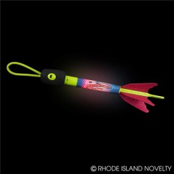 Whistle Light Up Flying Rocket