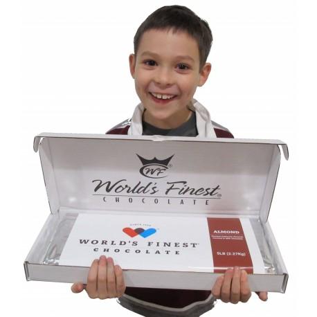 WFC 5 Pound Chocolate Almond Bar